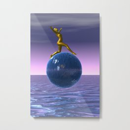 look up to the stars Metal Print