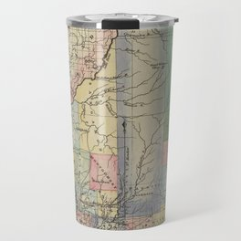 Vintage Map of Illinois (1823) Travel Mug
