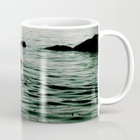siren Mugs featuring SIREN by Taryn Jayne