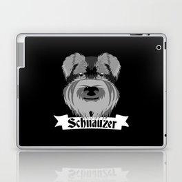 Schnauzer Laptop & iPad Skin