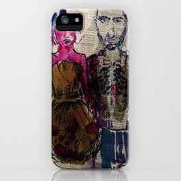 AA Couple iPhone Case