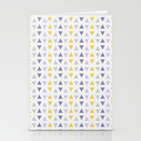 southwest Stationery Cards featuring Southwest Triangles by Kara Peters