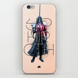 Heroes and Villains Series 2: Sephiroth iPhone Skin