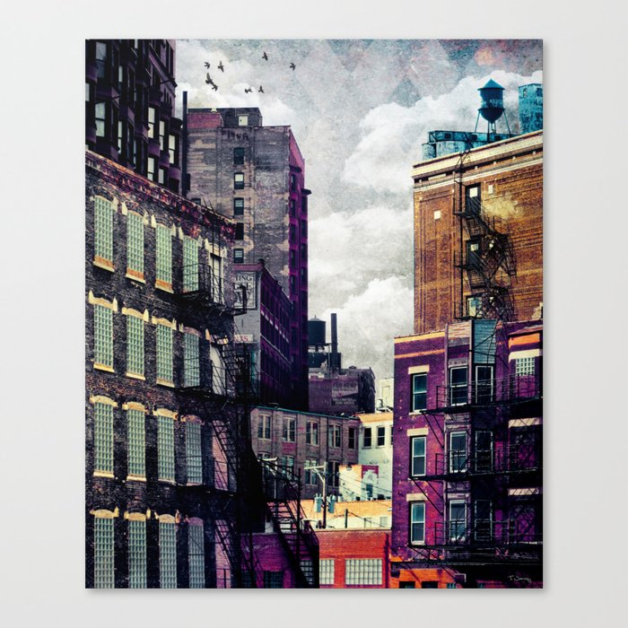 The Rooftop #2 Canvas Print