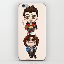 Save him!! iPhone Skin