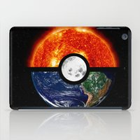 pokeball iPad Cases featuring Galaxy Pokeball by Advocate Designs