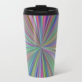 Rainbow Pattern Travel Mug