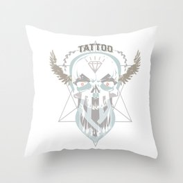 Tattoo You. Throw Pillow