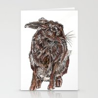hare Stationery Cards featuring Hare by Meredith Mackworth-Praed