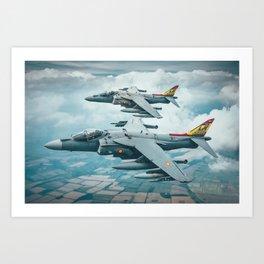 Harriers Art Print