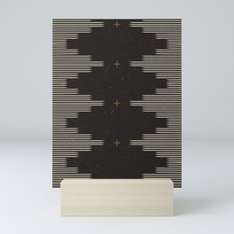 Southwestern Minimalist Black & White Mini Art Print