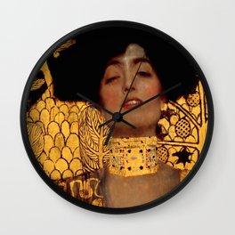 """Gustav Klimt """"Judith I"""", 1901 Wall Clock"""