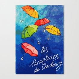 Les Parapluies de Cherbourg Canvas Print
