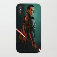 sith iPhone & iPod Cases featuring Loki: Sith Lord by Andrew Sebastian Kwan