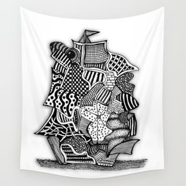 Another sailboat... Wall Tapestry