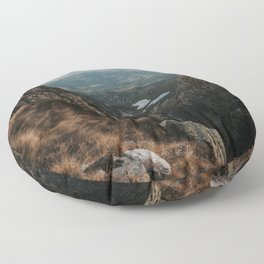 Giant Mountains - Landscape and Nature Photography Floor Pillow