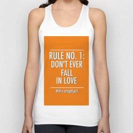 Rule No. 1 Unisex Tank Top