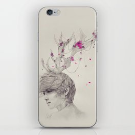 Portrait of the Forest iPhone Skin