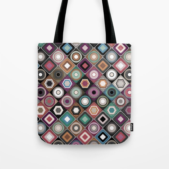 festival dusk diamond Tote Bag
