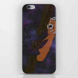 RED PANDA, IN SPACE! iPhone Skin