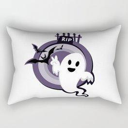 Halloween Ghost Story Rectangular Pillow