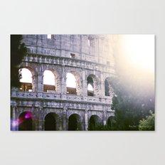 Colleseum, Colloso, Rome Canvas Print