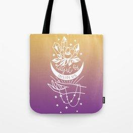 Magic Is Inside Us Tote Bag