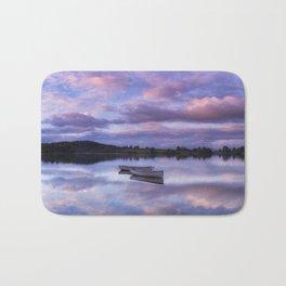 Purple Boats Bath Mat