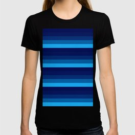 Blue stripes T-shirt