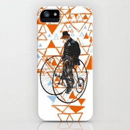 Bicycle Gent iPhone Case