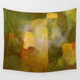 Oleo Green Wall Tapestry