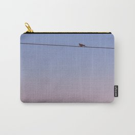 Alone On A Wire Carry-All Pouch
