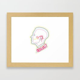 (SYM)PATHETIC Framed Art Print