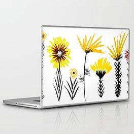 Sunny Days Ahead / floral art Laptop & iPad Skin