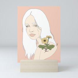 No Rain, No Flowers Mini Art Print
