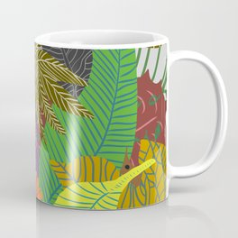 Rainbow Dancing Leaves Coffee Mug
