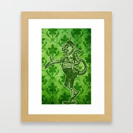 Green Goblin Framed Art Print