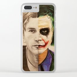 Why So Serious? Clear iPhone Case