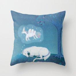 If I Were a Unicorn Throw Pillow