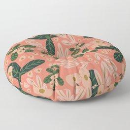 Poppy Pine (pink) Floor Pillow