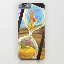 Out Of Time iPhone Case