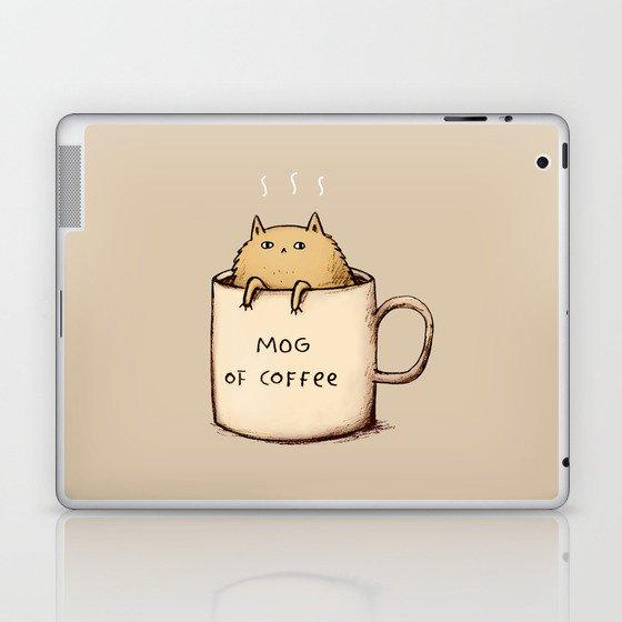 Mog of Coffee Laptop & iPad Skin