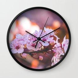 101 - Blossom Wall Clock