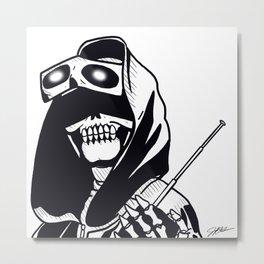 Eyes of the reaper Metal Print