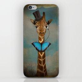 Sir Alfred iPhone Skin