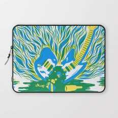 Guitar Explosion Laptop Sleeve