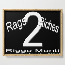 Riggo Monti Design #19 - Rags 2 Riches Serving Tray