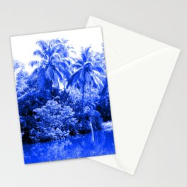 Florida in Blue Stationery Cards