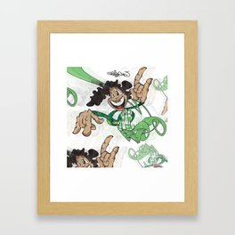 Jump Framed Art Print