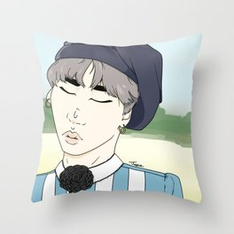 Yoongi - Young Forever Throw Pillow
